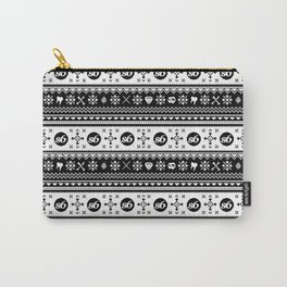 Ugly Sweater Society6 Carry-All Pouch