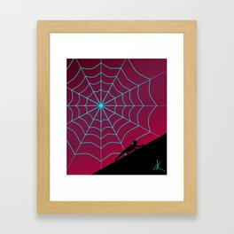 Spider Twilight Series - Spider-Gwen Framed Art Print