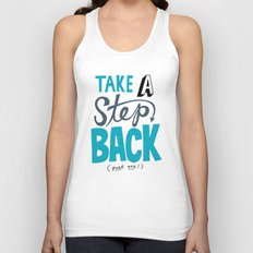Take a Step Back Unisex Tank Top