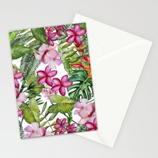 Tropical Garden 3 Stationery Cards