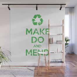 Make Do and Mend Wall Mural
