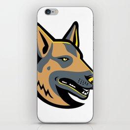 German Shepherd Dog Mascot iPhone Skin
