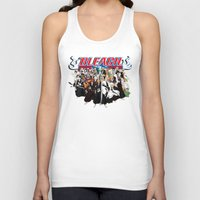 bleach Tank Tops featuring TOGETHER BLEACH by feimyconcepts05