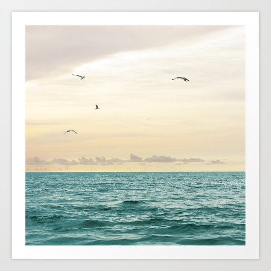 Seascape No. 3 Art Print