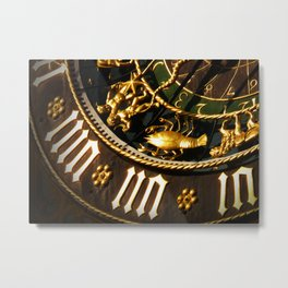 vintage clock_15 Metal Print