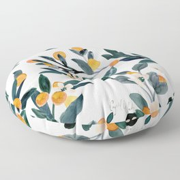 Clementine Sprigs Floor Pillow