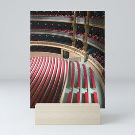 Opera house model Mini Art Print