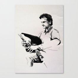 The Piper Canvas Print