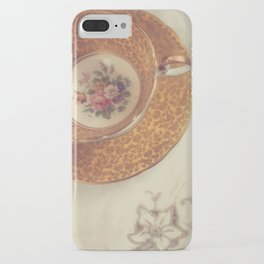 Two Teacups iPhone Case