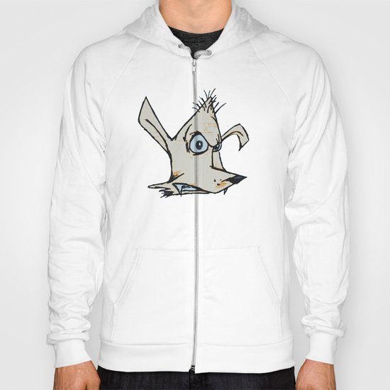 Skanking Wolf (head only) Hoody