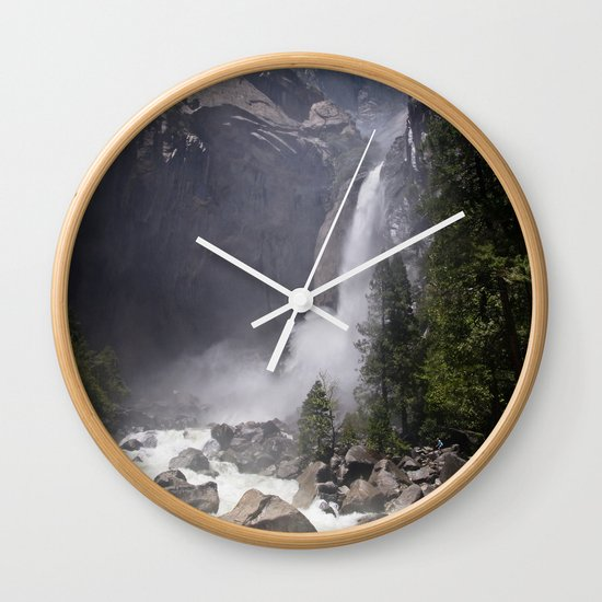 Mists Of Nature Wall Clock By James Hargreaves Society6