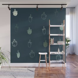 The finger Wall Mural
