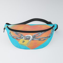 Chained Heart Fanny Pack