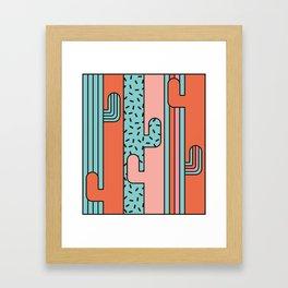 EL CACTO (PRINT) Framed Art Print