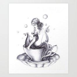 Tranquili-Tea  Art Print