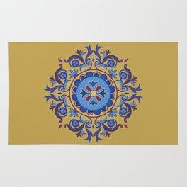 Ottoman Floral Art Rug
