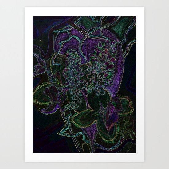 Cuore di Velluto - Velvet Heart Art Print