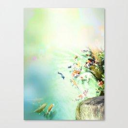 Fish watercolor Canvas Print