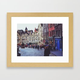 Edinburgh Scotland Framed Art Print