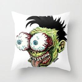 Bug Eyes Throw Pillow