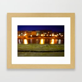 THE DISTANCE BETWEEN Framed Art Print