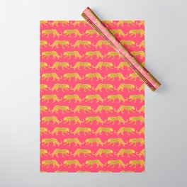 The New Animal Print - Berry Wrapping Paper