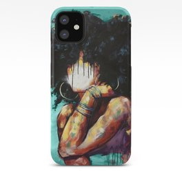 Naturally II TEAL iPhone Case