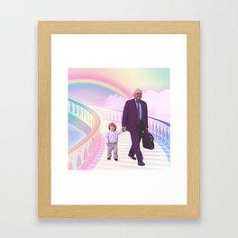PawPaw Bernie Framed Art Print