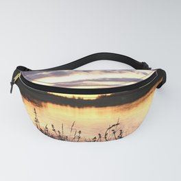 Sunset By The Lake - Summer Scene Fanny Pack