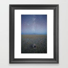 Galactic Savannah Framed Art Print