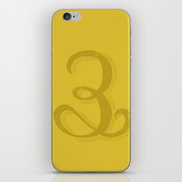 The Number 3 iPhone Skin