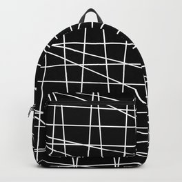 Gossamer. Black and white.1 Backpack