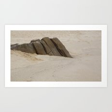 Rest Rock Art Print