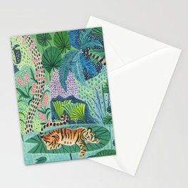 Jungle Tiger Stationery Cards