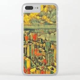Pacific Northwest 2 Clear iPhone Case