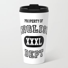 Property of the English Department Travel Mug