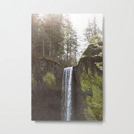 Waterfall (Part 1) Metal Print