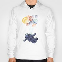Hoodies featuring Space travel by carbine