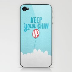 Keep Your Chin Up iPhone & iPod Skin