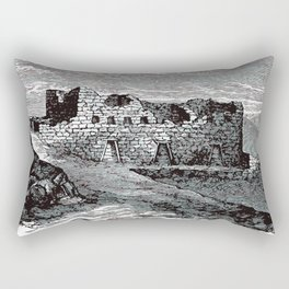 Old Peruvian Structure Rectangular Pillow