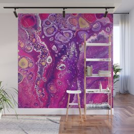 Candyland Acrylic Pour Wall Mural
