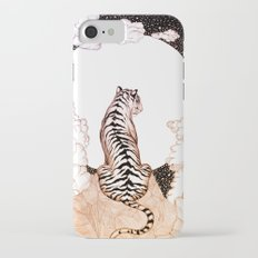 Tiger Moon Glow iPhone 7 Slim Case