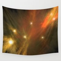 constellation Wall Tapestries featuring Constellation by GothicToggs