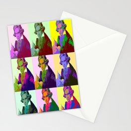 Ludwig Van Beethoven Pop Art Stationery Cards