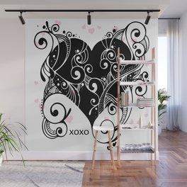 Hugs and Kisses Wall Mural