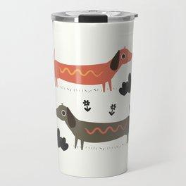 Wiener Dogs Travel Mug