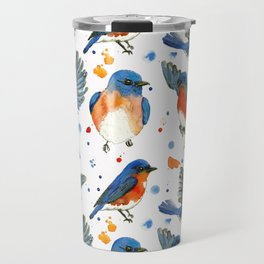 Bluebird Study Travel Mug