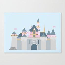 Sleeping Beauty's Castle Canvas Print