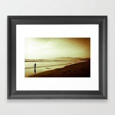 Sharing the Tide Framed Art Print