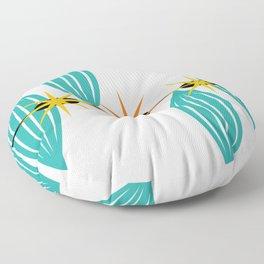 Mid-Century Modern Art 1.5 Floor Pillow